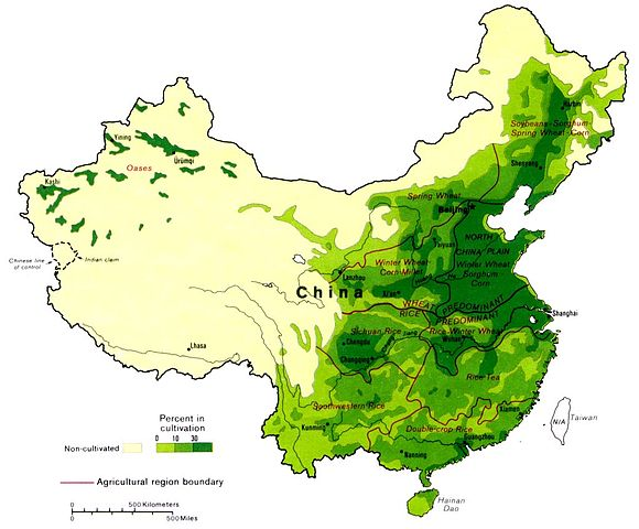 Agricultural Region in China