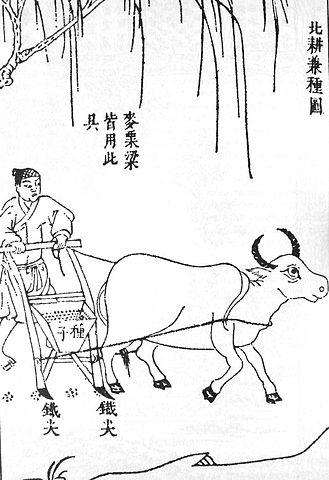 Chinese Seed drill