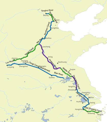 Course of Grand Canal