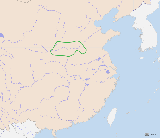 Xia Dynasty Location