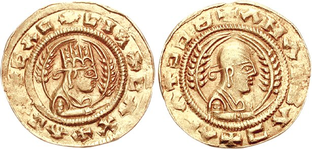 Aksumite gold coin of Endubis.