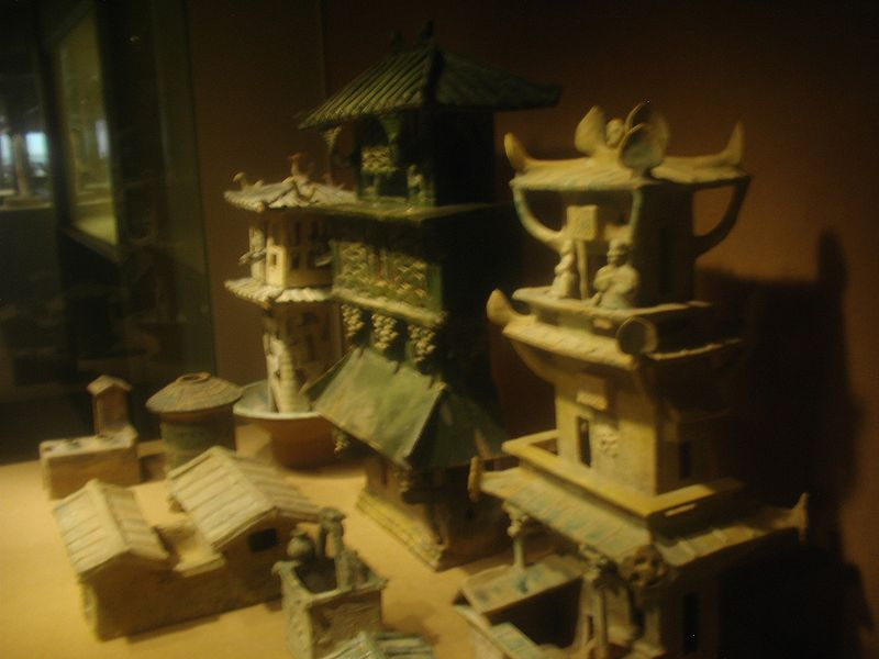 Earthenware architecture models, Eastern Han Dynasty