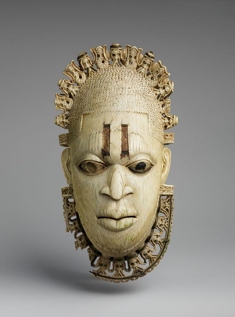 Queen Mother Pendant Mask