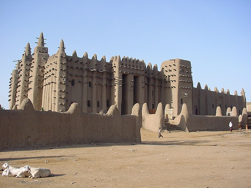 The Great Mosque of Djenne, Mali
