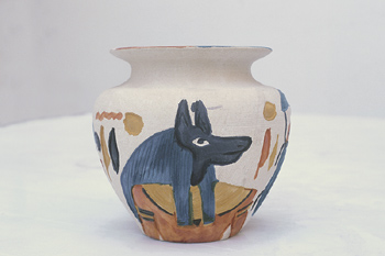 ancient african pottery