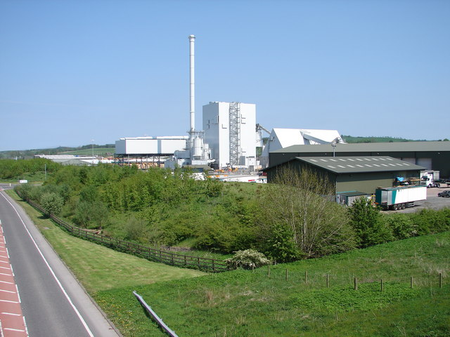 Croft Biomass Plant