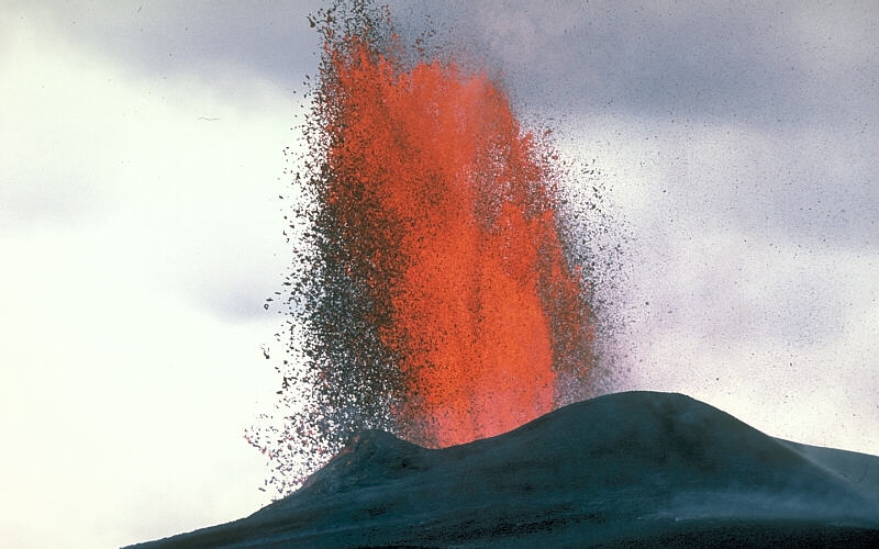 Lava fountain USGS