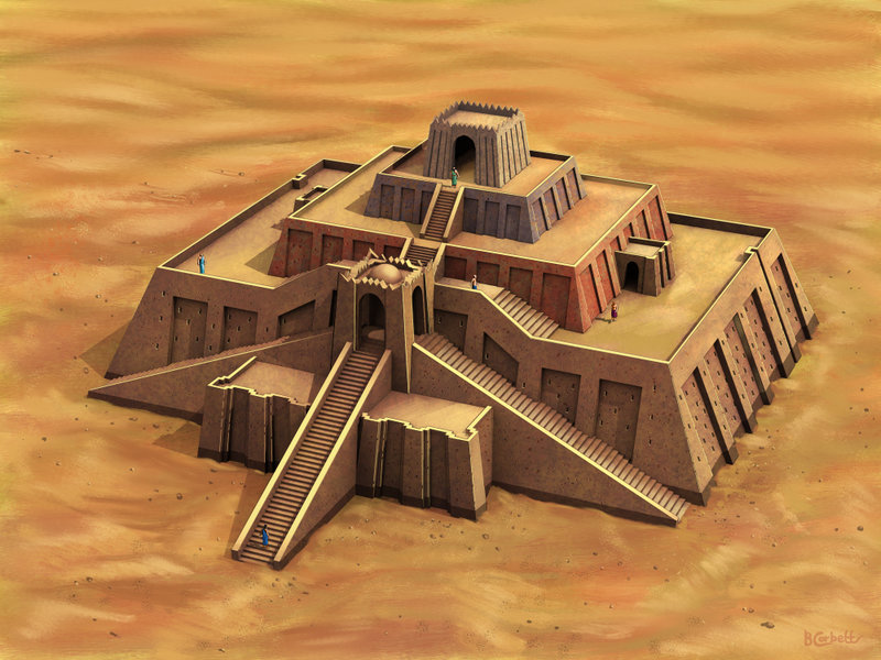 The Ziggurat of Mesopotamia