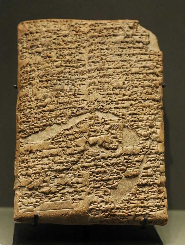The code on clay tablets