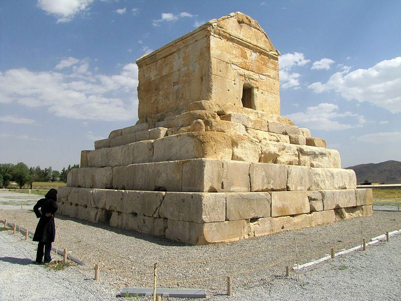 Tomb of Cyrus the Great, founder of the Achaemenid Empire (the first Persian Empire)