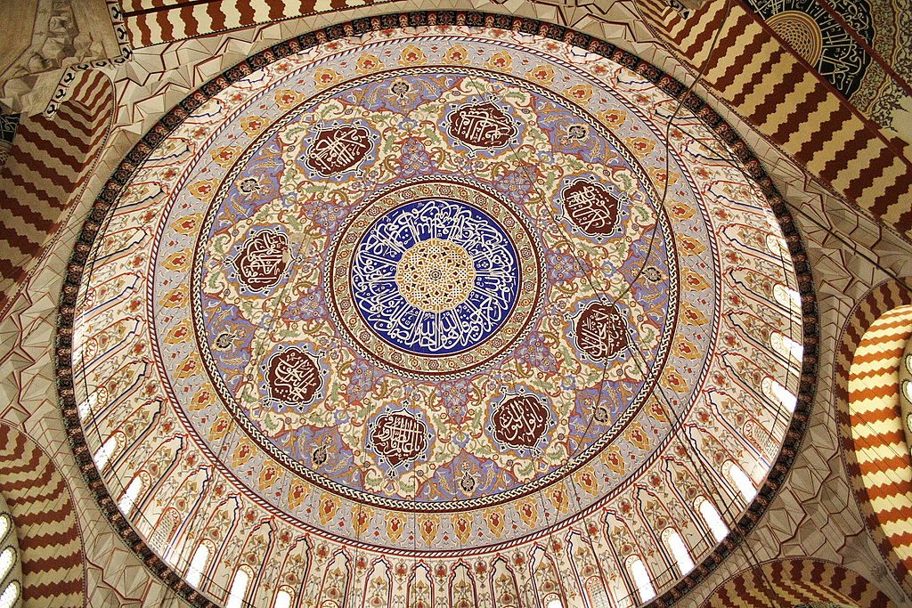Selimiye_Mosque,_Dome