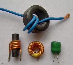 Electronic component - various small inductors